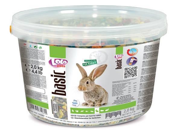 Корм для кроликов Lolo Pets