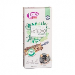 Lolo pets EXTRIMO SMAKERS лакомство для крыс 100 г 71567