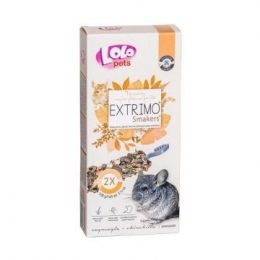 Lolo pets EXTRIMO SMAKERS лакомство для шиншилл 100 г 71667